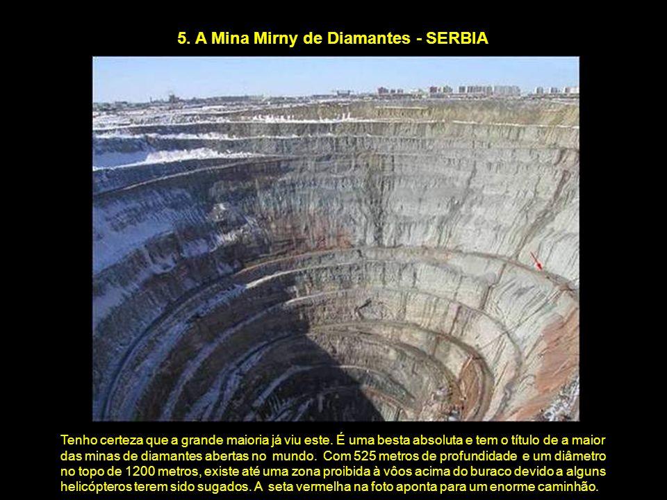 5. A Mina Mirny de Diamantes - SERBIA