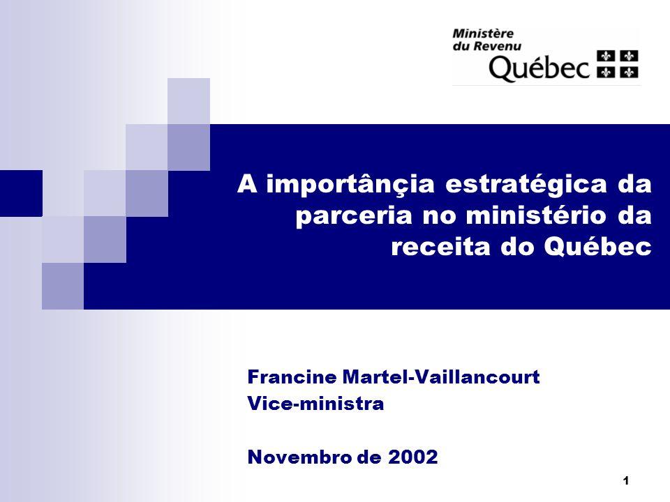 Francine Martel-Vaillancourt Vice-ministra Novembro de 2002