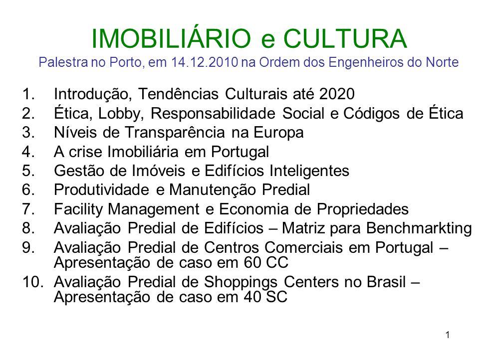 IMOBILIÁRIO e CULTURA Palestra no Porto, em 14. 12