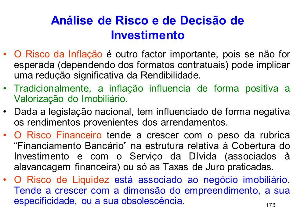 Análise de Risco e de Decisão de Investimento
