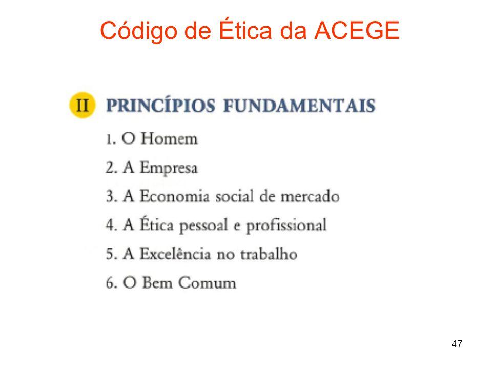 Código de Ética da ACEGE