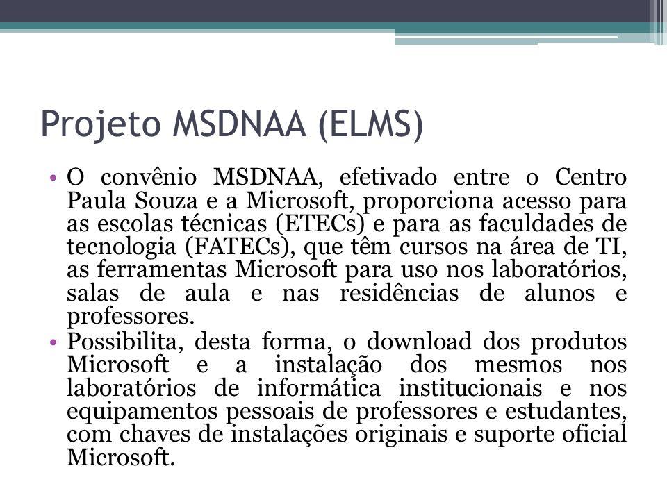 Projeto MSDNAA (ELMS)