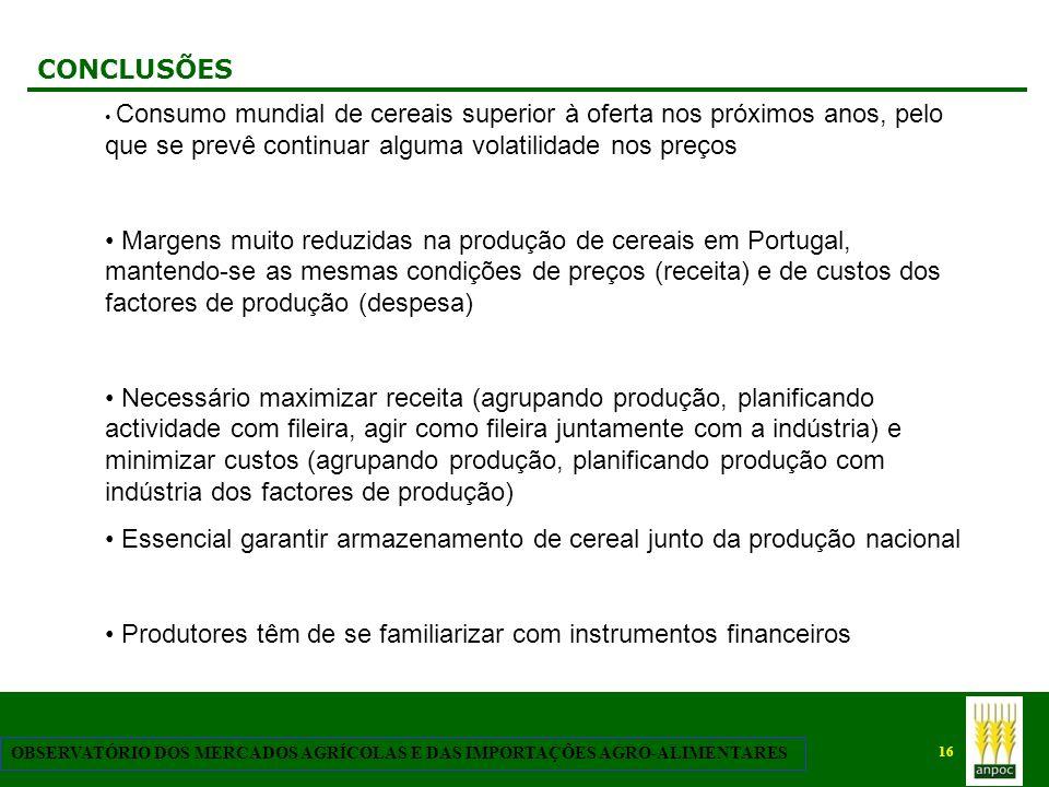 Essencial garantir armazenamento de cereal junto da produção nacional