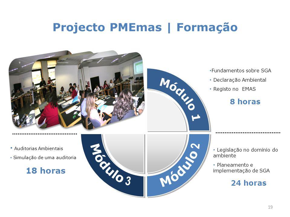 Projecto PMEmas | Abordagem faseada