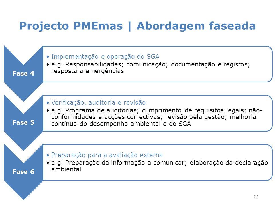 Projecto PMEmas | Acompanhamento
