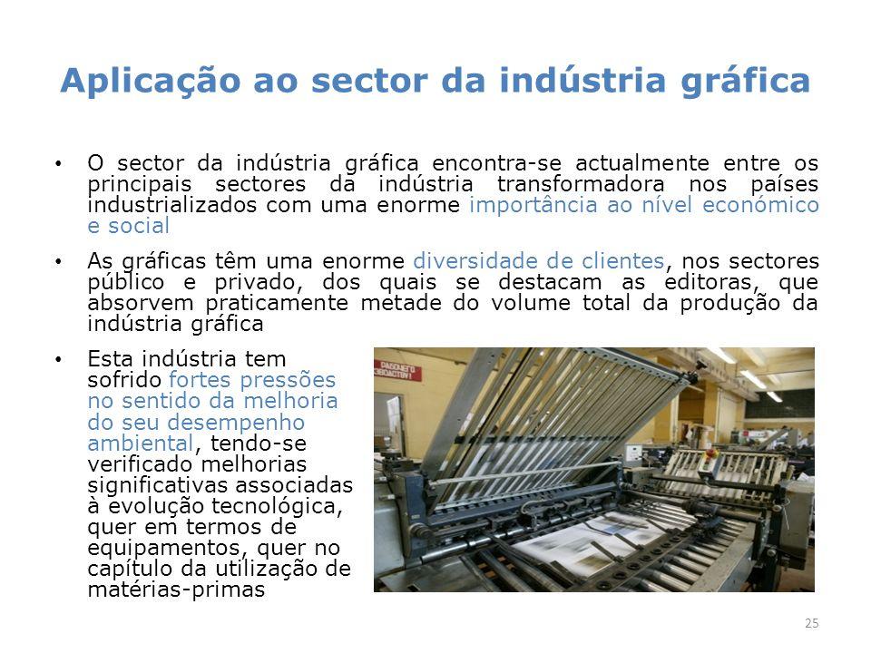 Aplicação ao sector da indústria gráfica