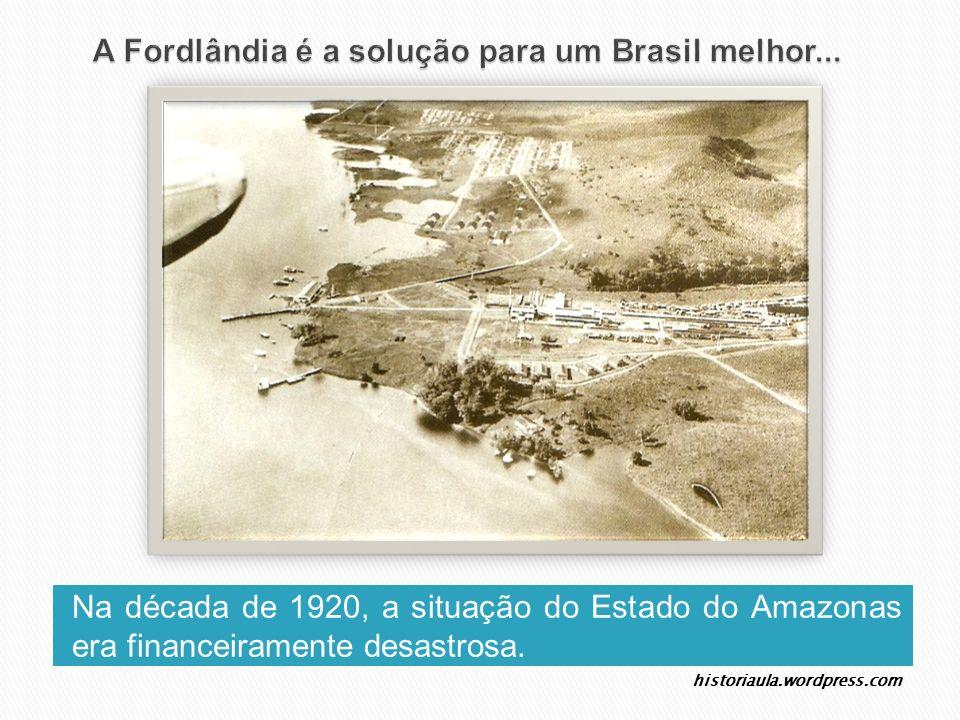 A Fordlândia é a solução para um Brasil melhor...