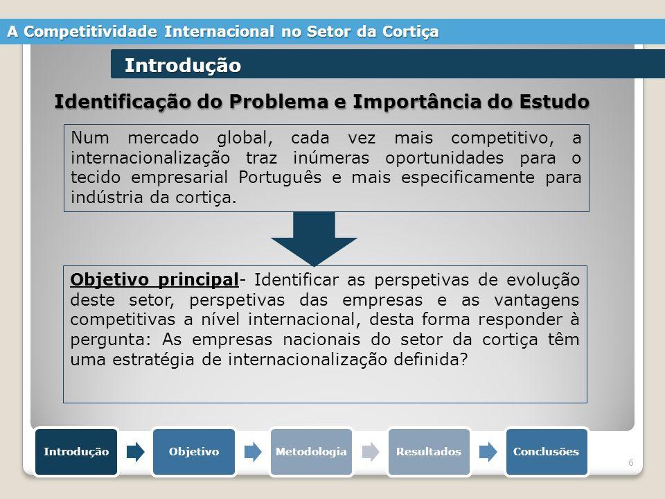 Identificação do Problema e Importância do Estudo