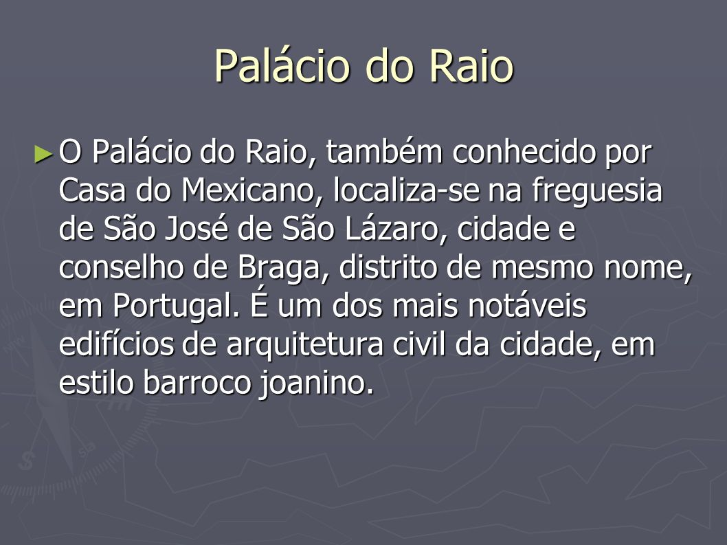Palácio do Raio