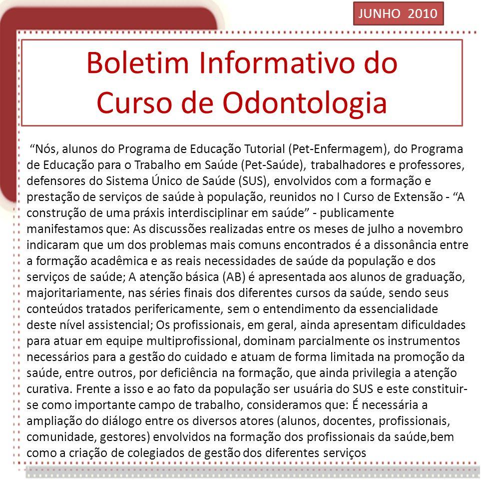 Boletim Informativo do