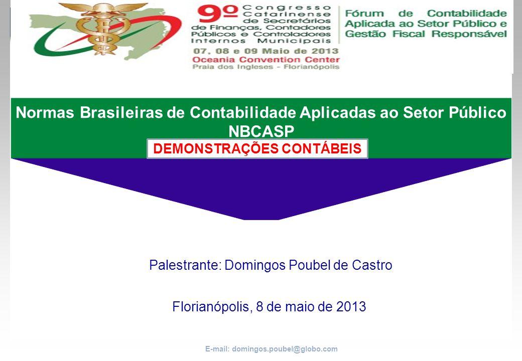 Normas Brasileiras de Contabilidade Aplicadas ao Setor Público NBCASP