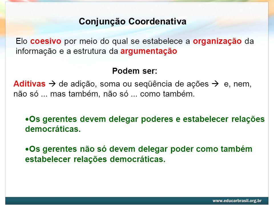 Conjunção Coordenativa