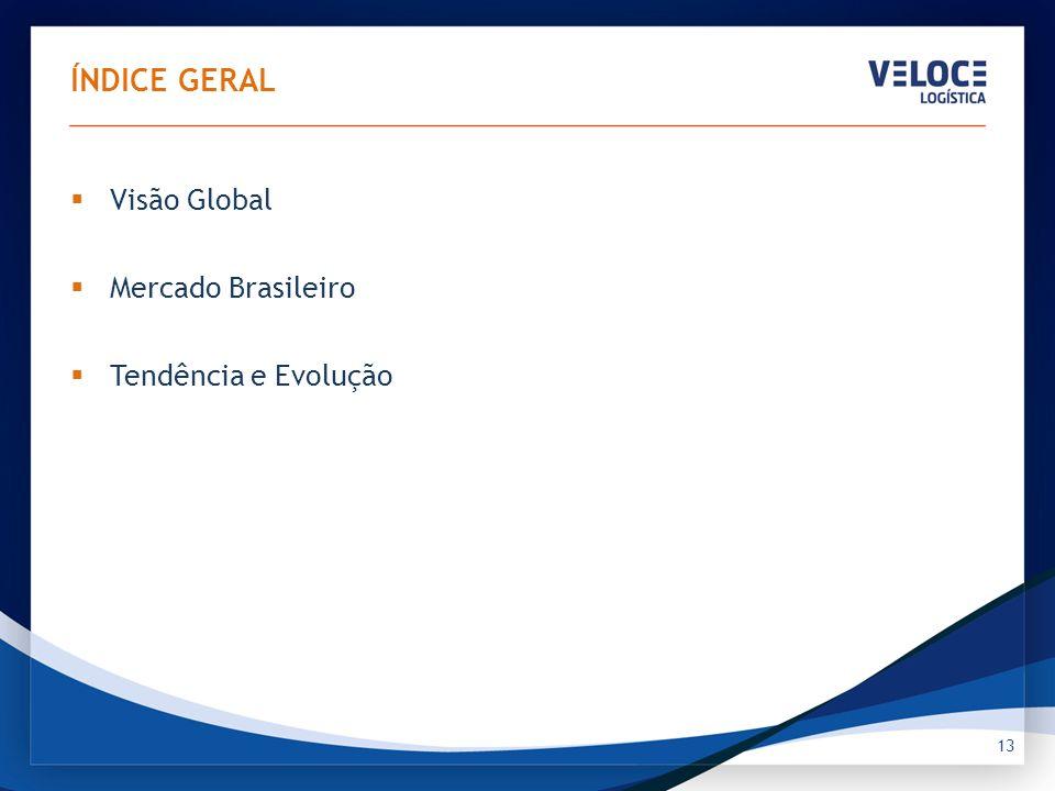 MERCADO BRASILEIRO Essas três forças também atuaram no Brasil: