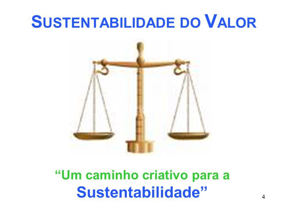 SUSTENTABILIDADE DO VALOR