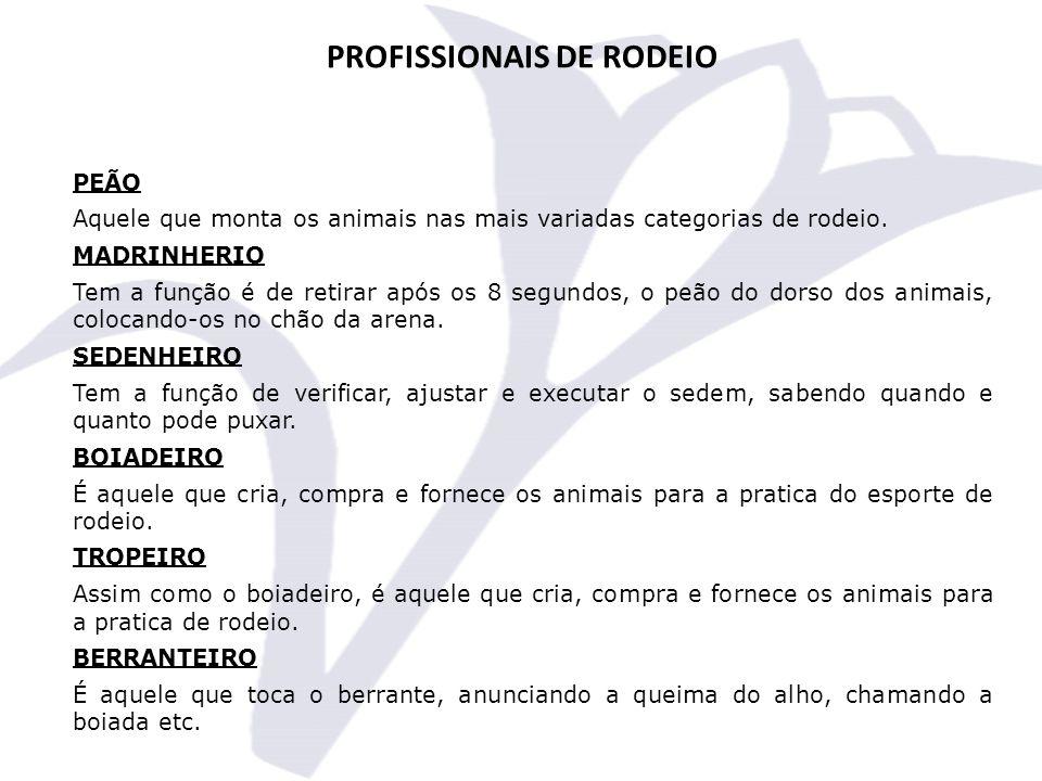 PROFISSIONAIS DE RODEIO