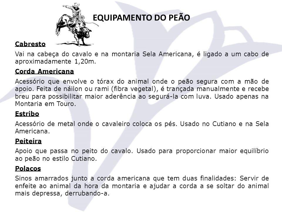 EQUIPAMENTO DO PEÃO Cabresto