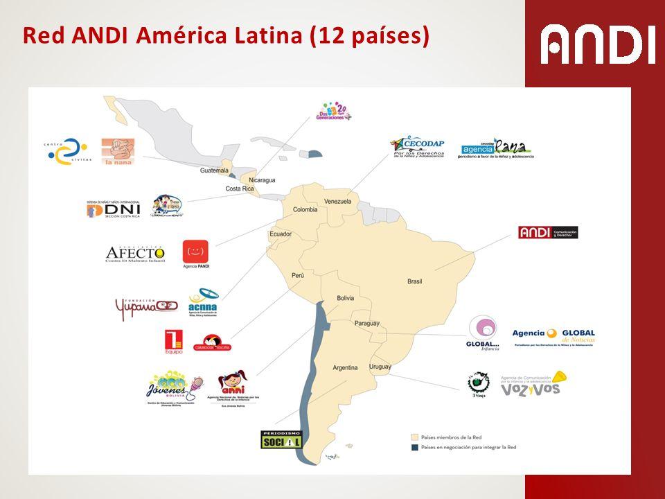 Red ANDI América Latina (12 países)