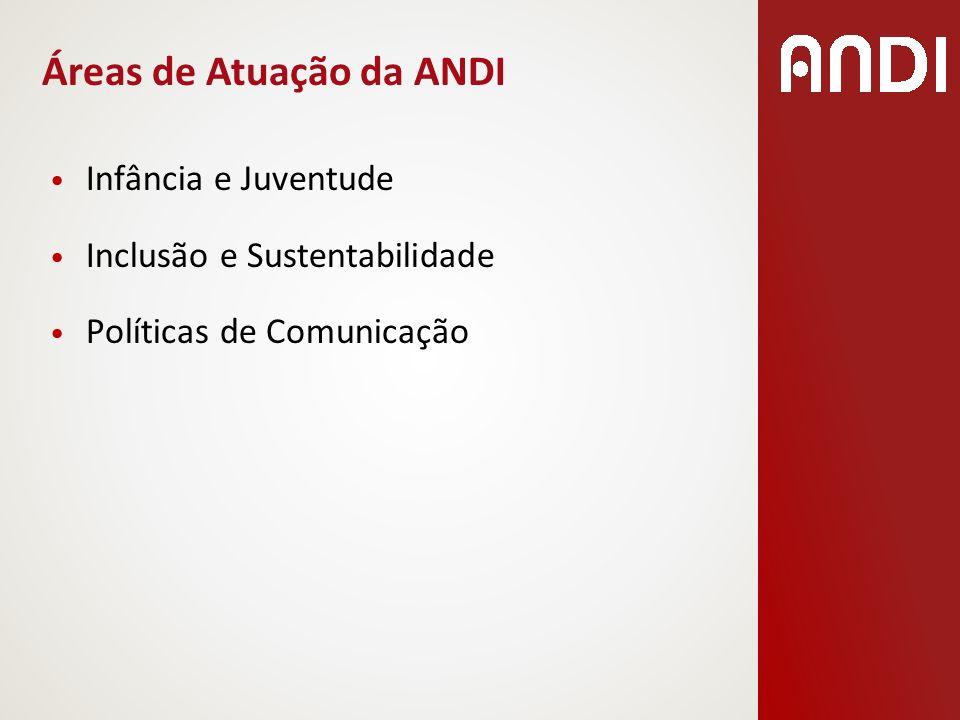 Áreas de Atuação da ANDI