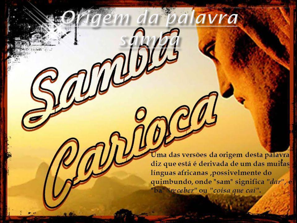 Origem da palavra samba