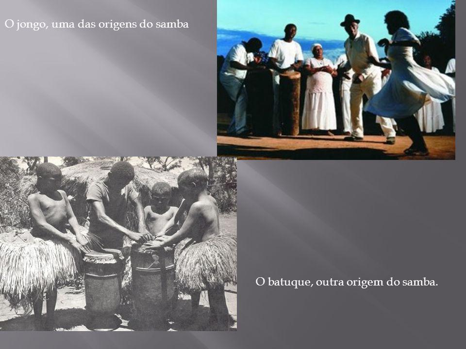 O jongo, uma das origens do samba