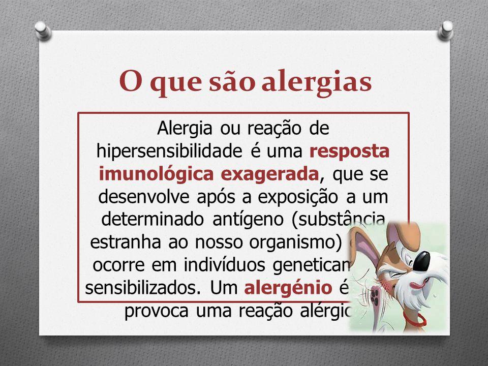 O que são alergias