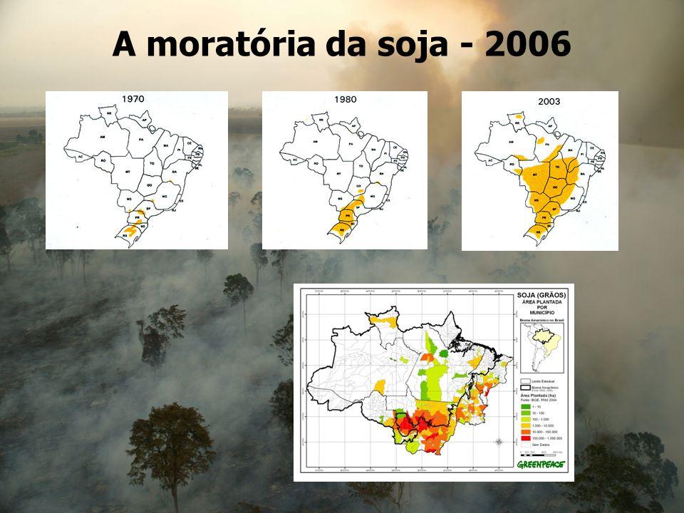 A moratória da soja - 2006 20