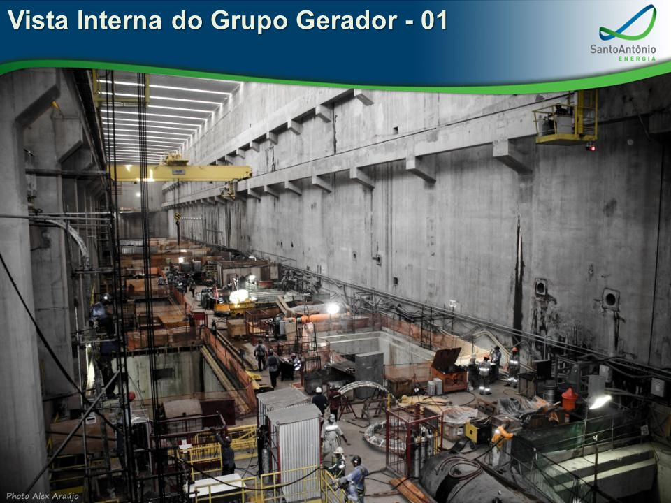 Vista Interna do Grupo Gerador - 01