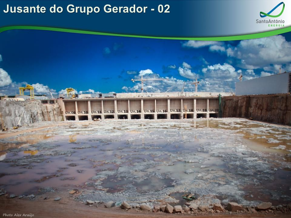 Jusante do Grupo Gerador - 02