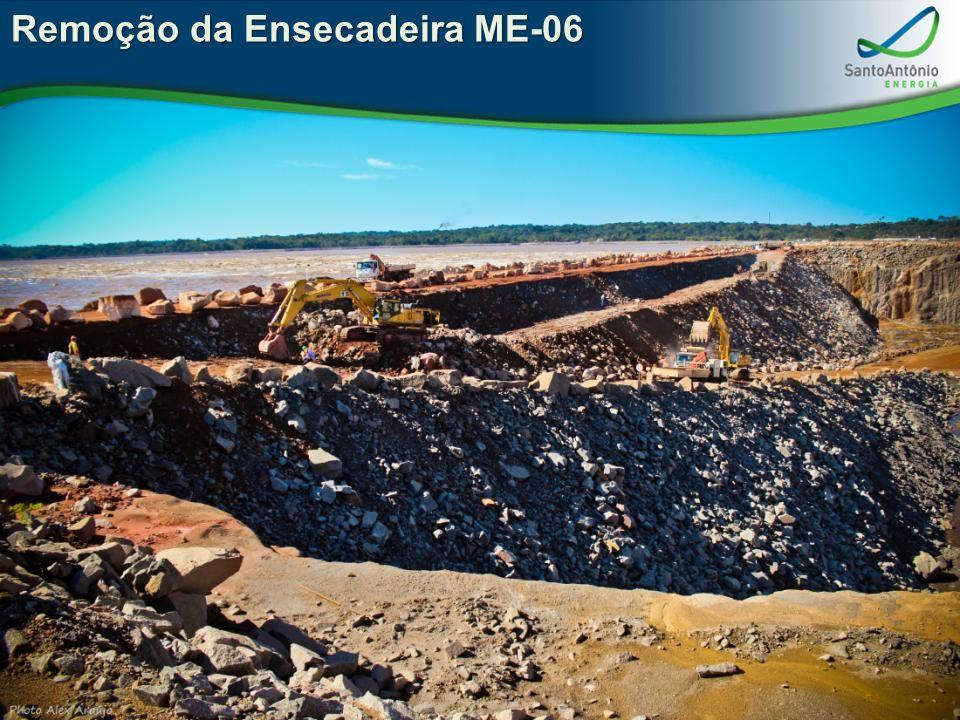 Remoção da Ensecadeira ME-06