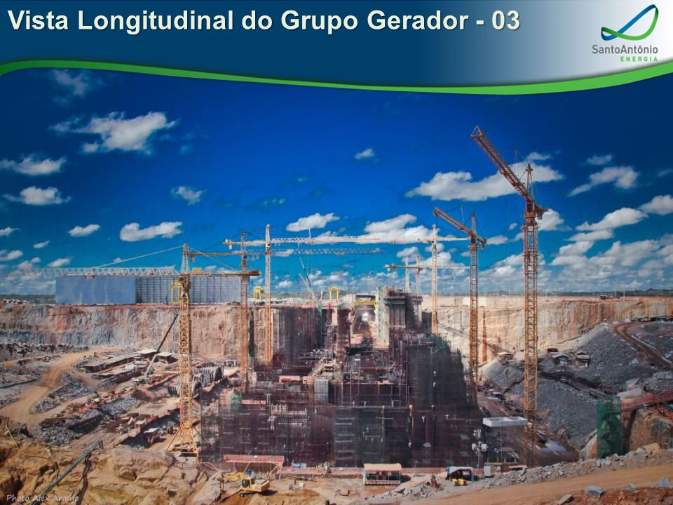 Vista Longitudinal do Grupo Gerador - 03