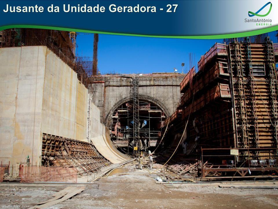 Jusante da Unidade Geradora - 27