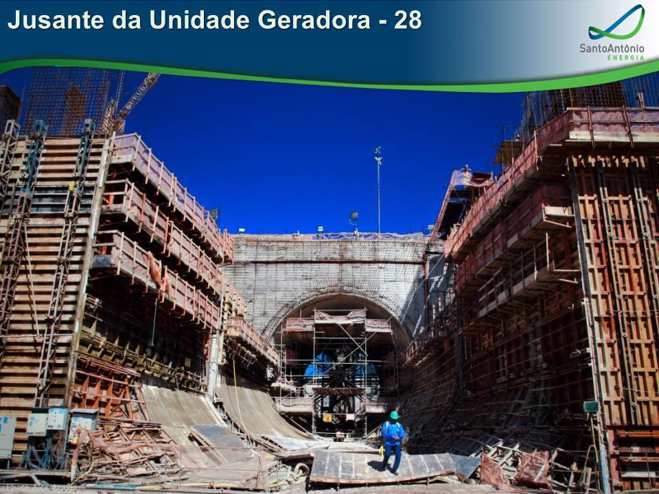 Jusante da Unidade Geradora - 28