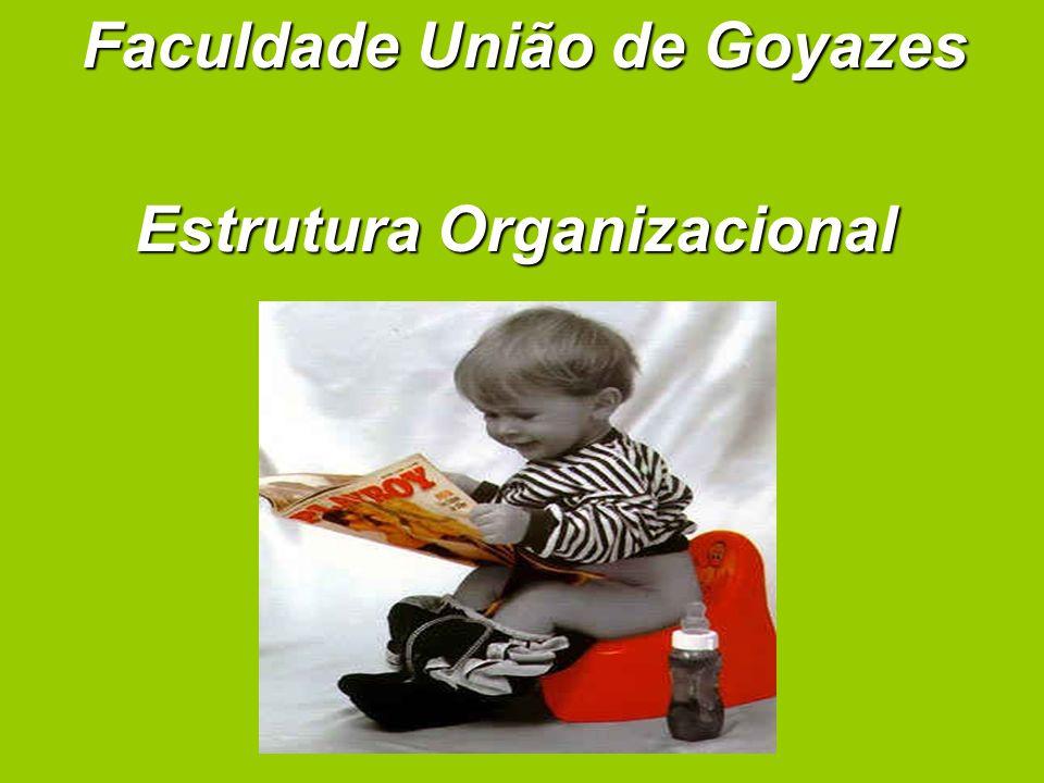 Faculdade União de Goyazes Estrutura Organizacional