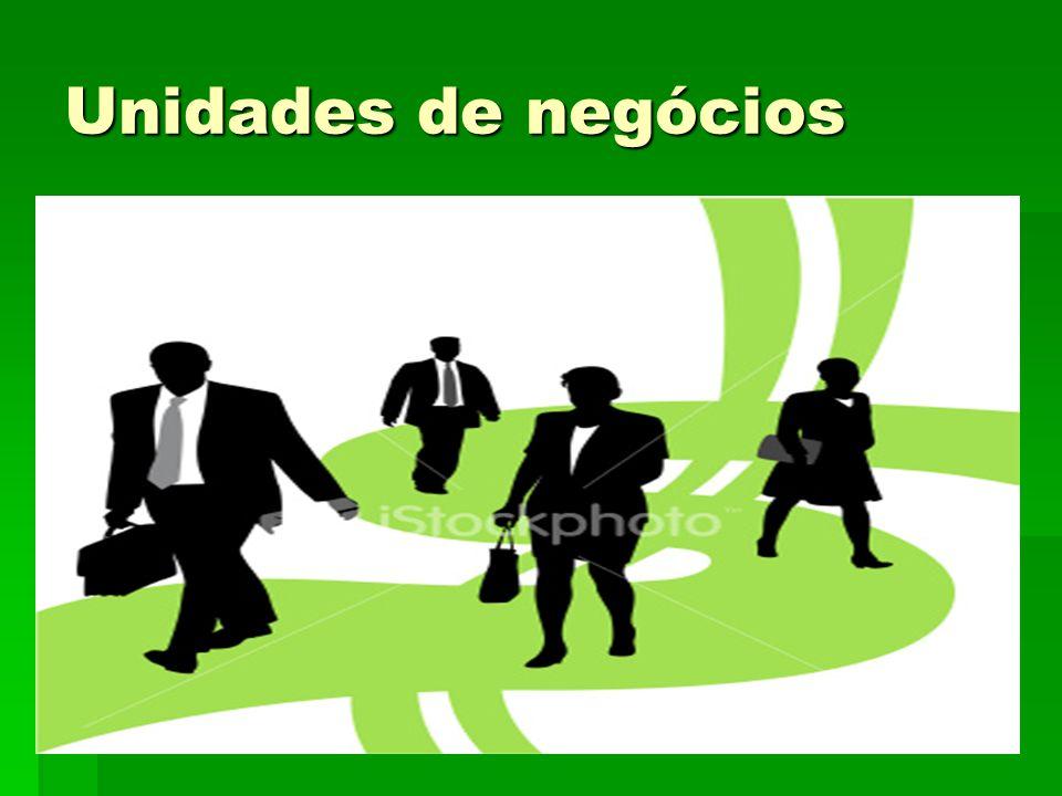 Unidades de negócios