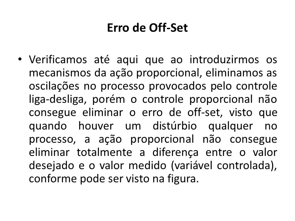 Erro de Off-Set