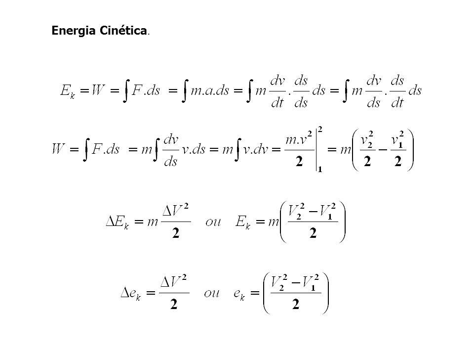 Energia Cinética.