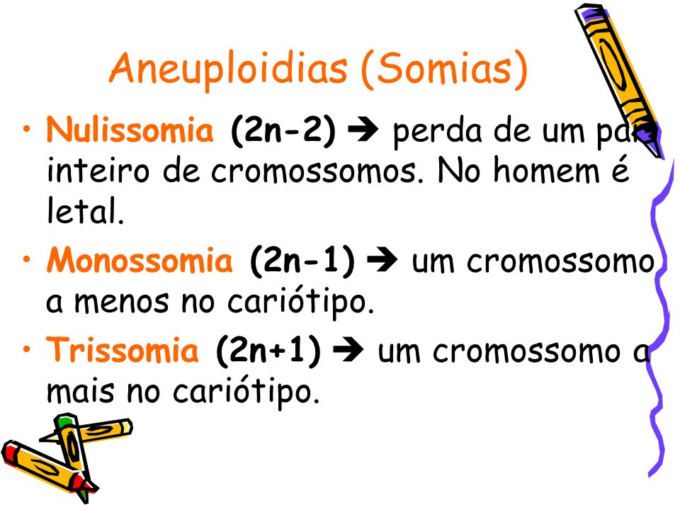Aneuploidias (Somias)