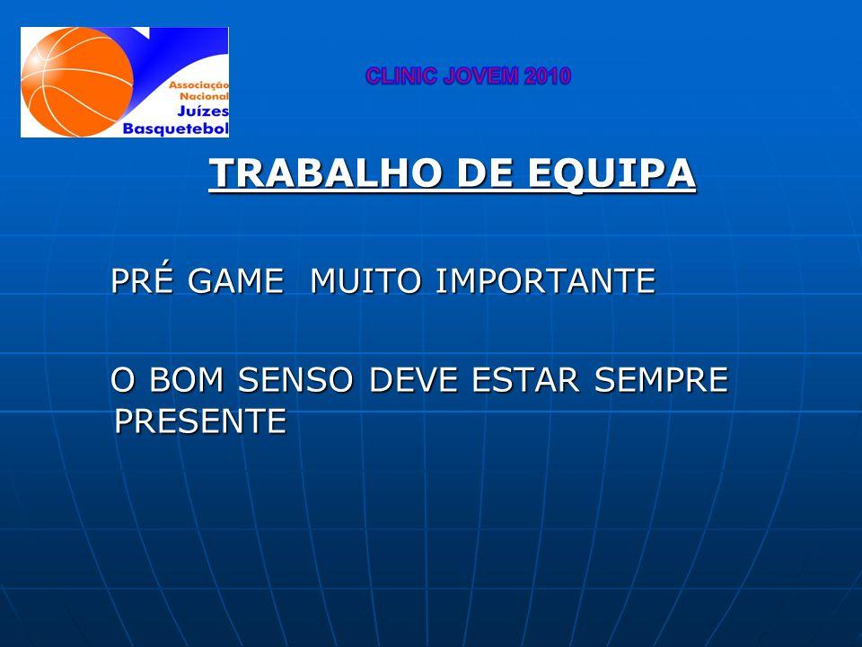 TRABALHO DE EQUIPA PRÉ GAME MUITO IMPORTANTE