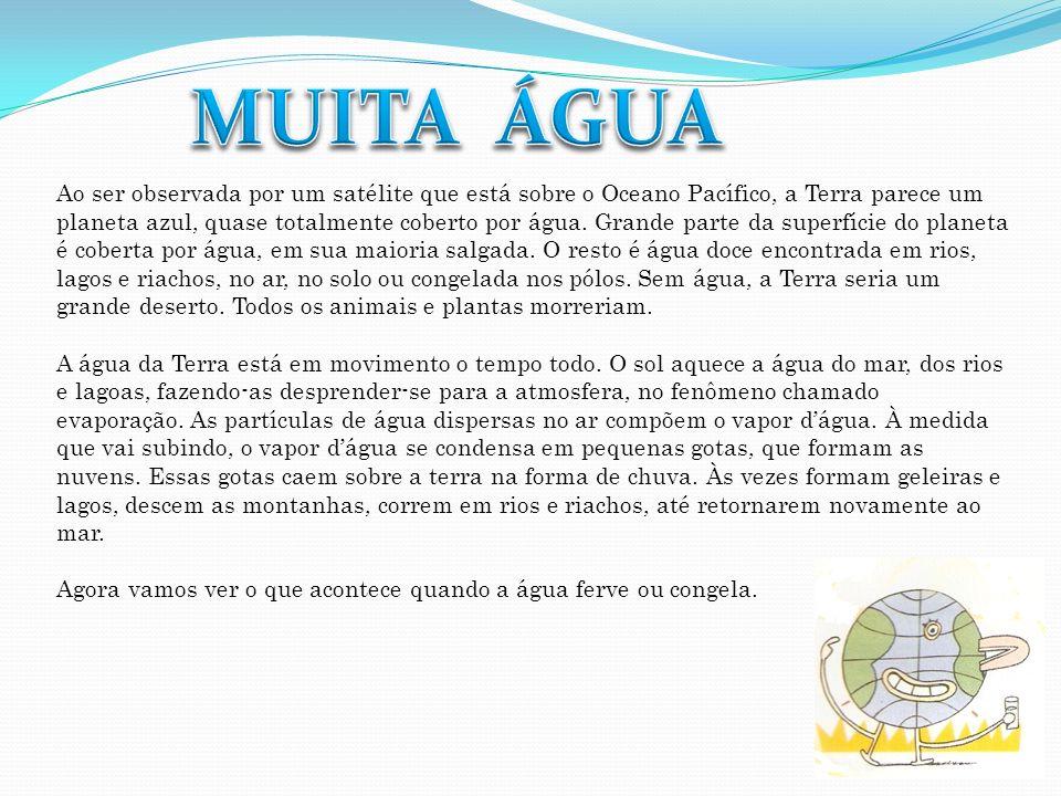 MUITA ÁGUA