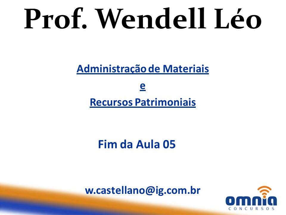 Administração de Materiais Recursos Patrimoniais