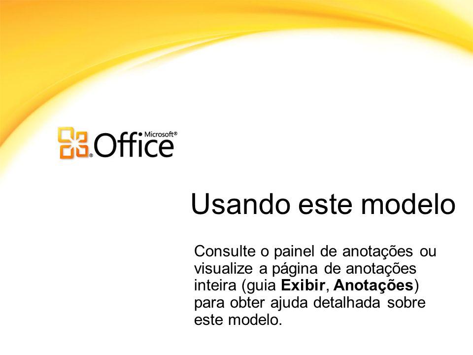 Usando este modelo Usando este Modelo.