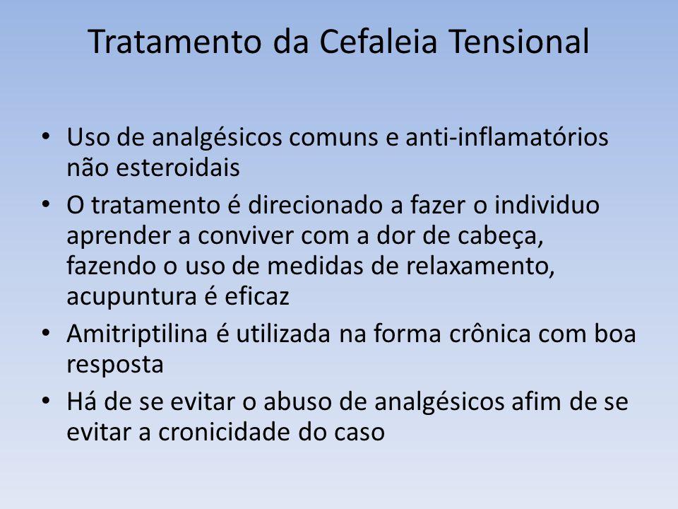 Tratamento da Cefaleia Tensional