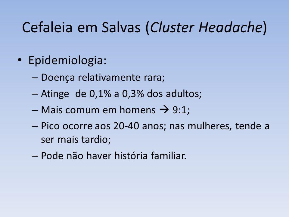 Cefaleia em Salvas (Cluster Headache)