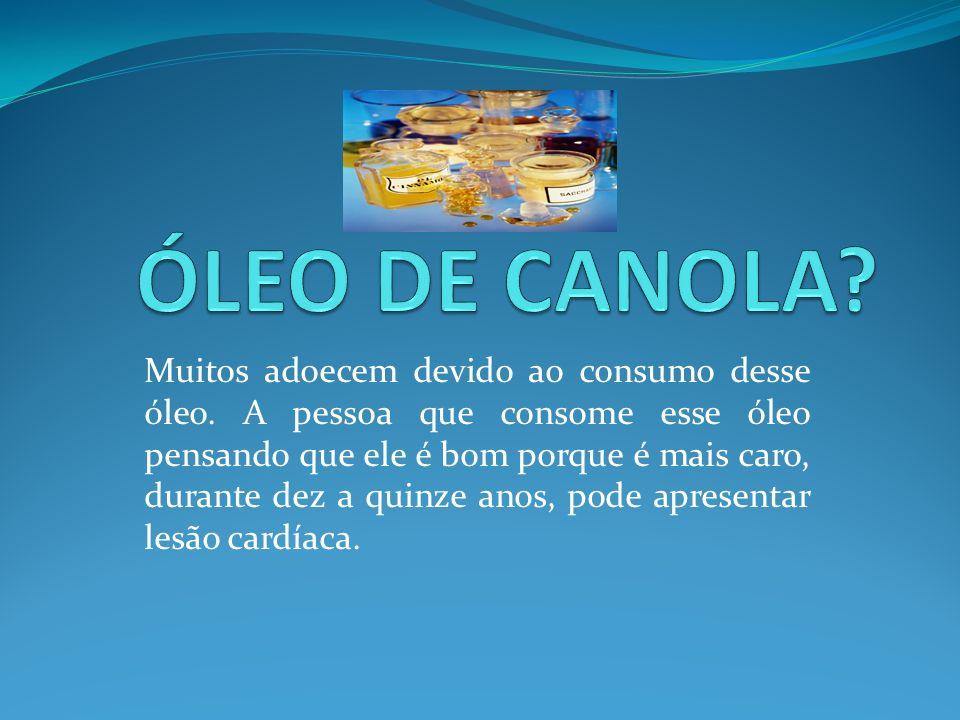 ÓLEO DE CANOLA