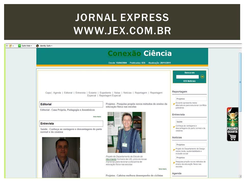 JORNAL EXPRESS WWW.JEX.COM.BR
