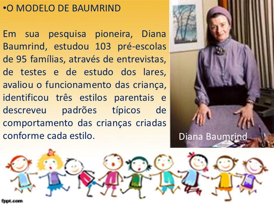 O MODELO DE BAUMRIND