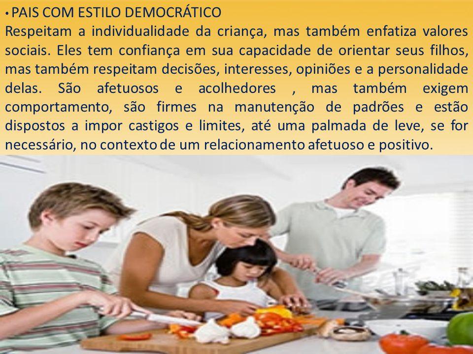 PAIS COM ESTILO DEMOCRÁTICO