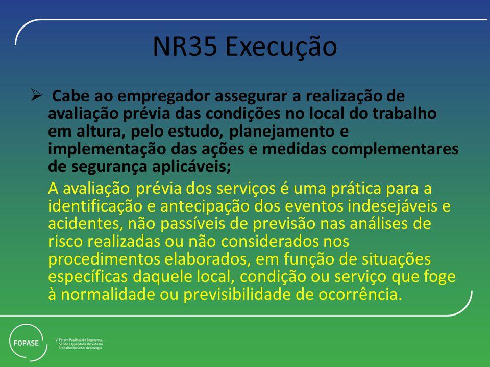 NR35 Execução