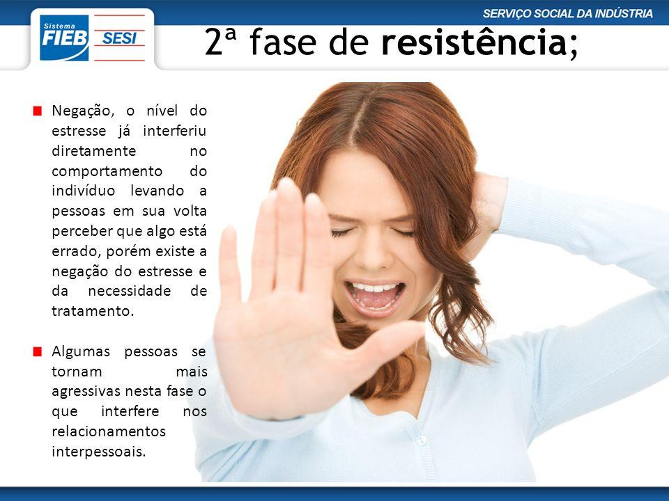 2ª fase de resistência;