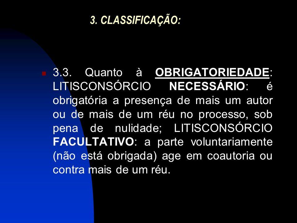 3. CLASSIFICAÇÃO: